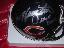 Dan Hampton signed in person Bears mini helmet w/HOF inscr