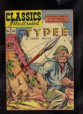 Classics Illustrated #36 Vg+ Hrn64 (Typee) Herman Melville