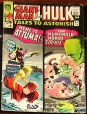 TALES TO ASTONISH 64 F- 1959 1st MARVEL SERIES RARE INCREDIBLE HULK GIANT MAN
