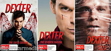 Dexter COMPLETE Season 6 7 8 : NEW DVD