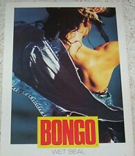 1991 ad page - BONGO Jeans clothing fashion girl PHOTO Print Advertising