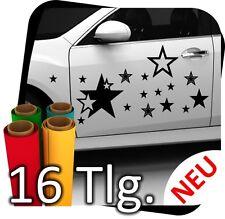 16 tlg. Aufkleber Stern Sterne Tuning Seitenaufkleber Tribal Folie Sticker No.2