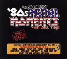 The Greatest '80s Metal Moments of All Time by Various Artists (CD, 2-Disc Set)