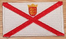 JERSEY Channel Islands Country Flag Embroidered PATCH