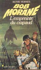 BOB MORANE 89 Pocket Marabout 49 L'empreinte du Crapaud Henri VERNES livre book