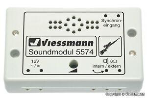 """Sound Module """" Jagd """" - 5574 From Viessmann"""