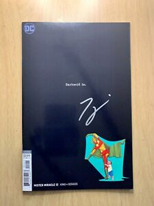 Mister Miracle #12 Mitch Gerads Variant Signed by Tom King New Gods High Grade