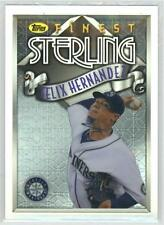 2014 Topps Finest 2014 Finest Topps Sterling #TS-FH Felix Hernandez Mariners