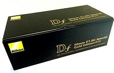 New Nikon DF DSLR Camera & 50mm f1.8 G Lens - Special Gold Edition - Anniv Model