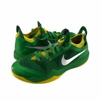 Nike Zoom Mens Crusader Athletic Shoes Green Yellow Silver Breathable Lace Up 8