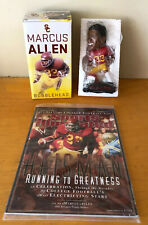 Marcus Allen Bobblehead & Sports Illustrated USC Trojans Heisman Trophy - NEW
