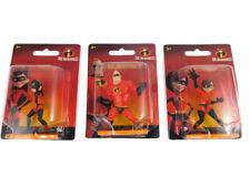 New 3 The Incredibles Dinsey Pixar Mini Figures Elastigirl Mr Incredible Violet