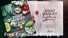 SIGNED Ziggy Marley and Family Cookbook by Ziggy Marley, autographed, new