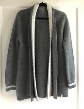 Kit And Ace Wool Cashmere Ribbed Oversized Cardigan Sweater Size XS S