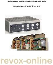 Kondensatorsatz komplett Revox B750 capacitor complete kit