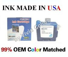 New compatible cartridge for Canon W7200 W8200 BCI-1411 Photo Cyan