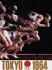 Publicité sport exposition jeux olympiques tokyo 1964 poster art print BB2889B