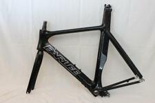Parlee TT Carbon Bike Frame Fork XL Large Time Trail Tri Triathlon Race Black