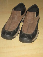 NICE TIMBERLAND slip on suede leather hiking ankle boots - waterproof - SIZE 12M