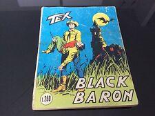 TEX COLLANA GIGANTE Nr°94 - BLACK BARON - lire 250 Dicembre 1971