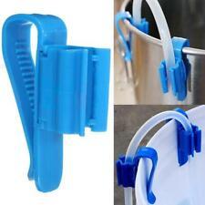 Aquarium Fish Tank Filtration Hose Holder Water Pipe Fixing Clip Tube Clamp Blue