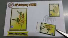 50 Years ASEAN Myanmar Post 1000 Kyat Stamp MNH and First Day Cover FDC 2017