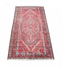 3'4'' x 6'5'' ft. Afghani vegetable dye hand knotted wool oriental rug
