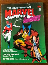 Wolverine #4 UK Edition (Mighty World of Marvel v2 8) Alan Moore Captain Britain