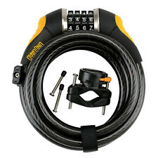 ONGUARD DOBERMAN COMBO 8031 BIKE CABLE LOCK SECURITY FOR CYCLE