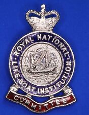 More details for royal national lifeboat institution rnli pin badge qc committee [22494]