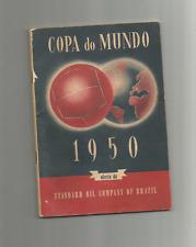 More details for football programme 1950 tournament rare