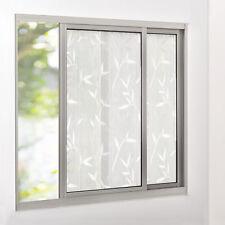 casa.pro Sichtschutzfolie Fensterfolie Milchglas Dekofolie statisch Bambus Motiv