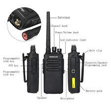 Retevis RT81 Walkie Talkie UHF400-470MHz 10W 32CH VOX DMR Radio IP67 Impermeable