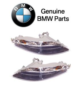 For BMW E63 E64 2004-2008 Front Set of Left & Right Turn Signal Assembly Genuine