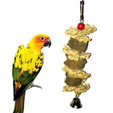 FT- BL_ EB_ KF_ Pet Bird Hanging Building Natural Straw Flower Toy Cage Pendant
