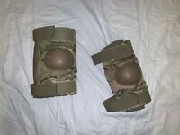 BPE OCP MULTICAM SLEEVE COYOTE PROTECTIVE COMBAT ELBOW PADS LARGE