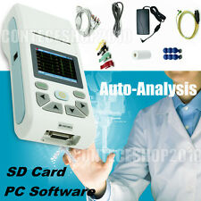 Digital 1 Channel 12 lead ECG Touch Screen Electrocardiograph,Printer,USB PC SW