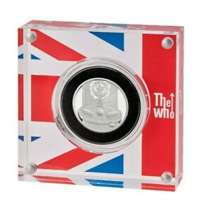 NEW* Royal Mint - 2021 The Who - Silver Proof 1/2oz Coin - Music Legends