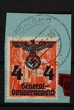 B2 Generalgouvernement PF 18 II gestemp. Briefstück