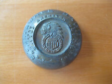 Vintage Stonewall Babbitt United American Metals Indian Advertising Paperweight