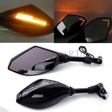 LED TURN SIGNAL REARVIEW MIRRORS FOR Ducati Monster 696 796 Streetfighter 848 US