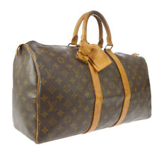LOUIS VUITTON KEEPALL 45 TRAVEL HAND BAG PURSE MONOGRAM cq M41428 A52946a