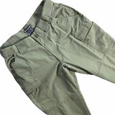 5.11 Tactical Séries Pantalon Cargo 34x31 Armée Vert Olive Coton Militaire