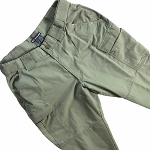 5.11 Tactical Series Cargo Pants 34x31 Army Green Olive Cotton Military Utility