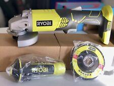 Ryobi One+ 18V 115mm Cordless Angle Grinder - NEW !!