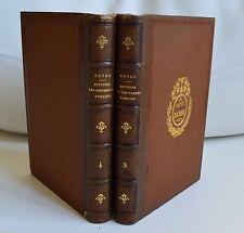 HISTOIRE DES EMPEREURS ROMAINS PAR JC ROYOU ED LE NORMANT 1826 TOME 3 ET 4