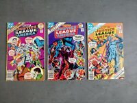Justice League Of America Issues #142 145 146 (DC, 1977) GIANT-SIZE