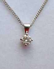 """Less than 13"""" Gold Fine Diamond Necklaces & Pendants"""
