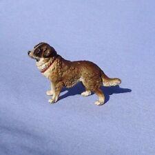 antique SAINT ST BERNARD NEWFOUNDLAND LANDSEER bronze dog Vienna Austria