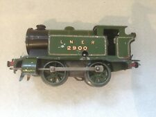 Hornby O Gauge No 1 Tank LNER RN: 2900, from the 1930's, working well
